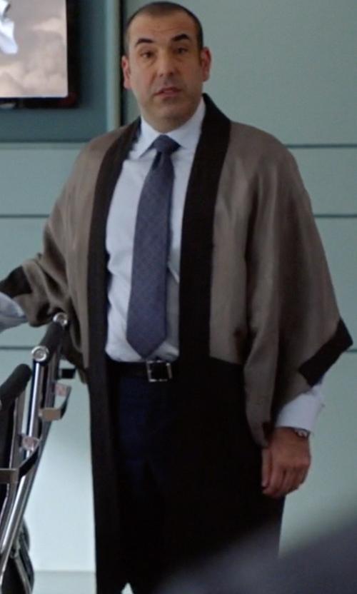 Rick Hoffman with Fengbay Haori Hakama Samura Robe in Suits