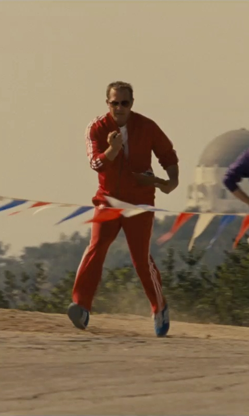 Kevin Costner with Adidas Running Duramo Sneakers in McFarland, USA