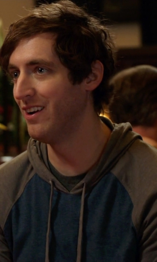 Thomas Middleditch with Columbia Trail Shaker Hoodie in Silicon Valley