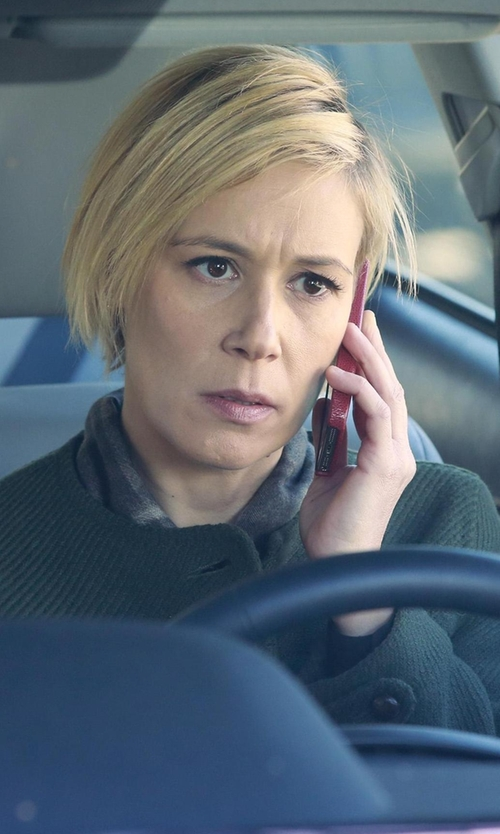 Liza Weil with York Street My Man's Coat in How To Get Away With Murder
