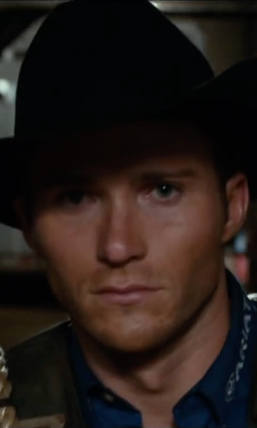 Scott Eastwood with Bailey Western Stampede Cowboy Hat in The Longest Ride