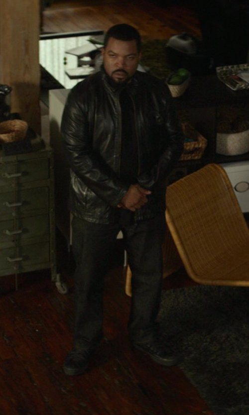 Ice Cube with Converse Chuck Taylor All Star Leather Sneakers in Ride Along