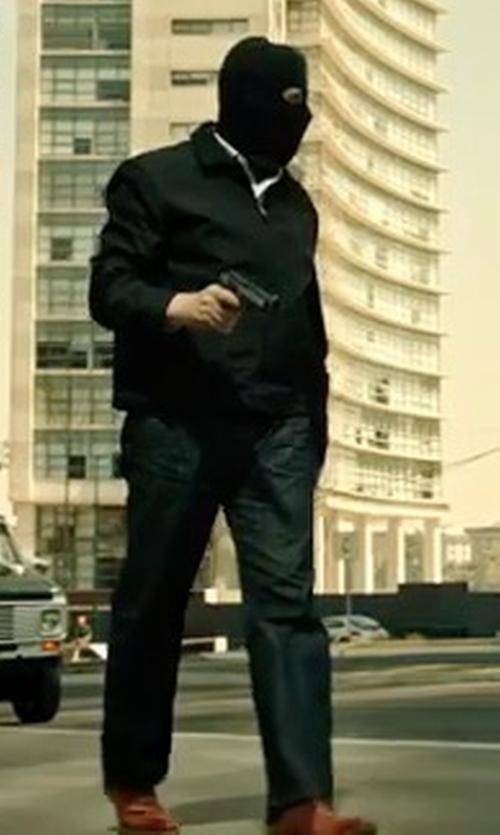Benicio Del Toro with Levi's Made and Crafted Rail Straight Jeans in Sicario 2: Soldado