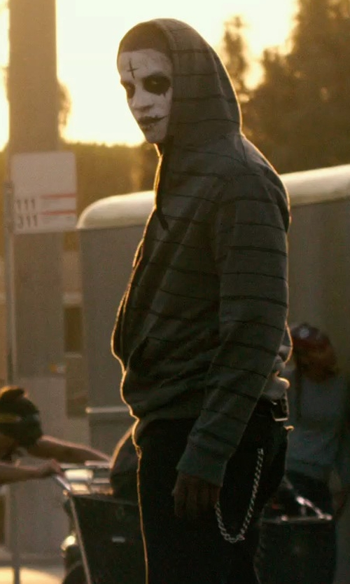 Unknown Actor with Gmasking The Purge Anarchy Cross Mask  in The Purge: Anarchy