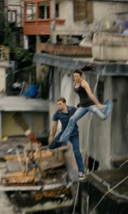 Paul Walker with Visvim Five-Pocket Jeans in Fast Five