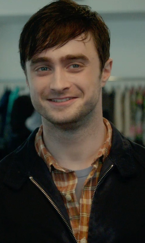 Daniel Radcliffe with Under Armour Charged Cotton Loose Fit T-Shirt in What If