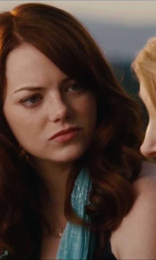 Emma Stone with Skin Organic Pima Cotton Tank Top in Easy A