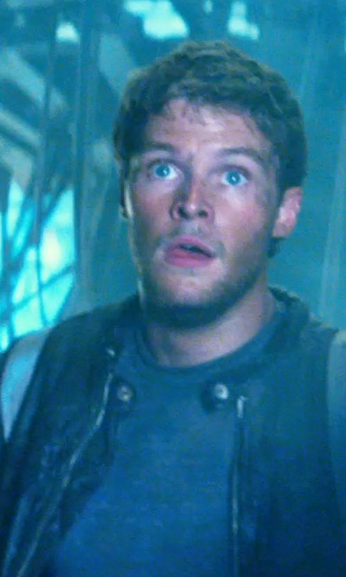 Jack Reynor with AETHER PIECED ZIP-POCKET JERSEY T-SHIRT in Transformers: Age of Extinction