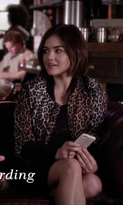 Lucy Hale with Soko 'Sasi' Bar Ring in Pretty Little Liars