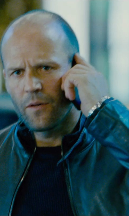 Jason Statham with Apple iPhone 5s Smartphone in Furious 7