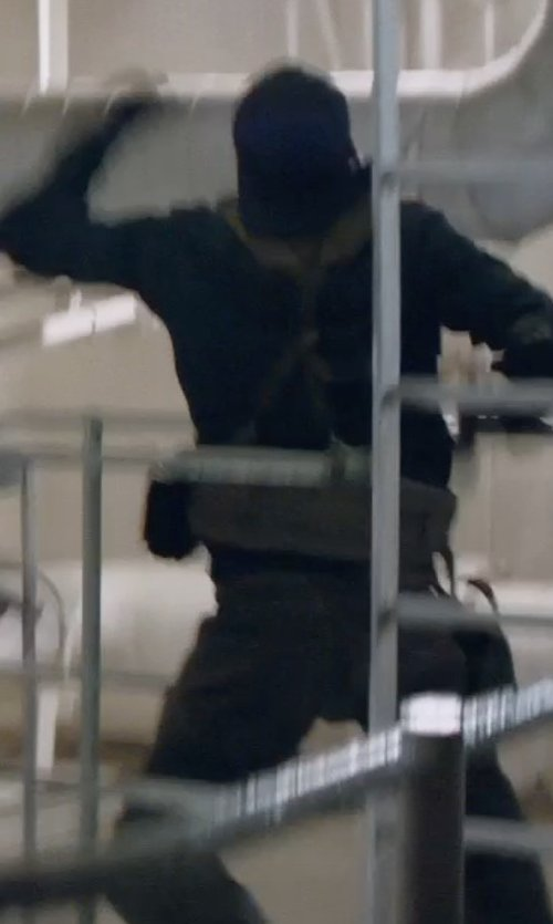 Unknown Actor with Vince Long Sleeve Lightweight Merino Wool Sweater in Captain America: The Winter Soldier