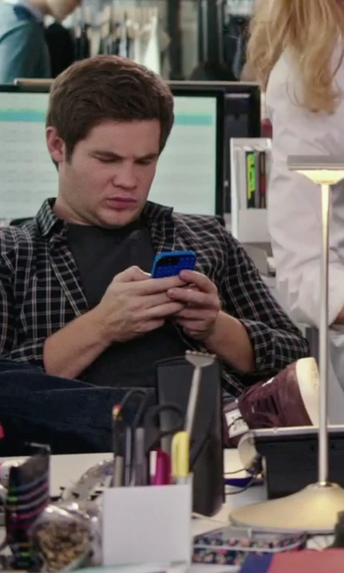 Adam DeVine with J Brand Jeans Tyler Revelled Slim-Fit Denim Jeans in The Intern