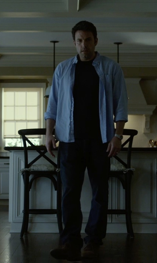 Ben Affleck with J Brand Mick Arcane Wash in Gone Girl
