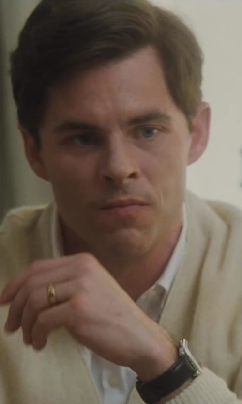 James Marsden with Fay V-Neck Cardigan in Lee Daniels' The Butler