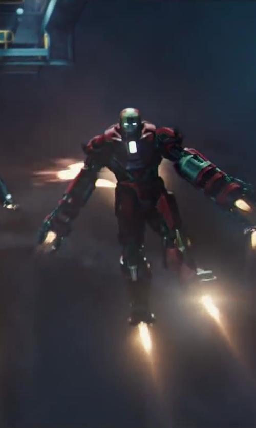 """Ryan Meinerding (Concept Artist) Iron Man Mark 35 """"Red Snapper"""" Suit in Iron Man 3"""