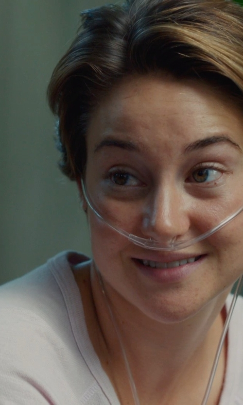 Shailene Woodley with NORMA KAMALI POCKET SWEATSHIRT in The Fault In Our Stars