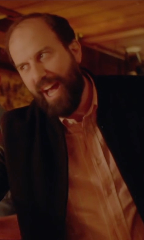 Brett Gelman with A.P.C. Blouson Theo Bomber Jacket in Joshy