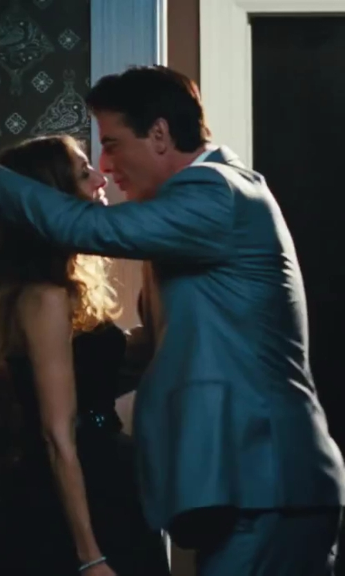 Chris Noth with Fendi Two Piece Suit in Sex and the City 2