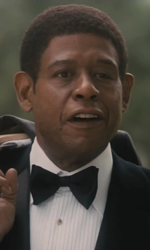 Forest Whitaker with Neiman Marcus Satin Bow Tie in Lee Daniels' The Butler