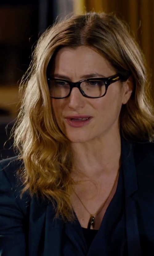 Kathryn Hahn with Bobbi Brown The Brooklyn Reading Glasses in She's Funny That Way