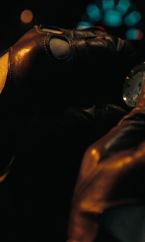 Ryan Gosling with Gaspar Gloves Driving Gloves in Drive
