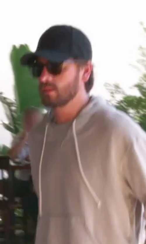 Scott Disick with Saint Laurent Small Square Vintage Sunglasses in Keeping Up With The Kardashians