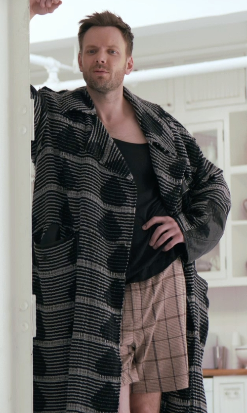 Joel McHale with Majestic Kimono Robe in Adult Beginners