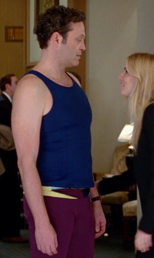 Vince Vaughn with Nike Pro Combat Core Compression Tights in Unfinished Business