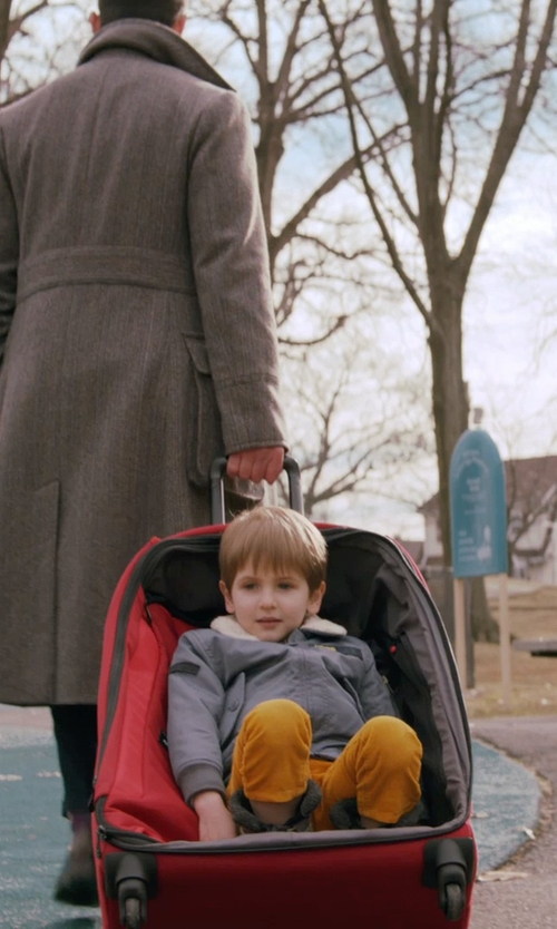 Caleb and Matthew Paddock with Teddy Bear Turtleneck Jacket in Adult Beginners