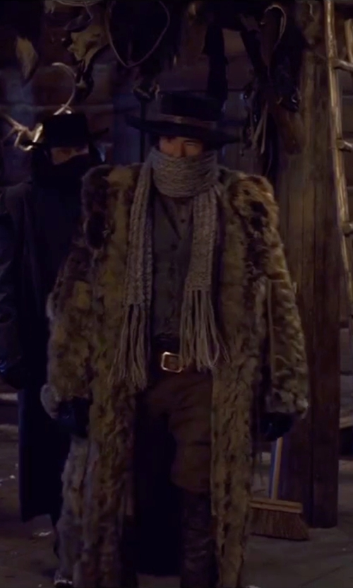 Demian Bichir with Rick Owens Knee High Boots in The Hateful Eight