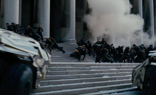 Mellon Institute of Industrial Research (depicted as Gotham City Hall) Pittsburgh, Pennsylvania in The Dark Knight Rises