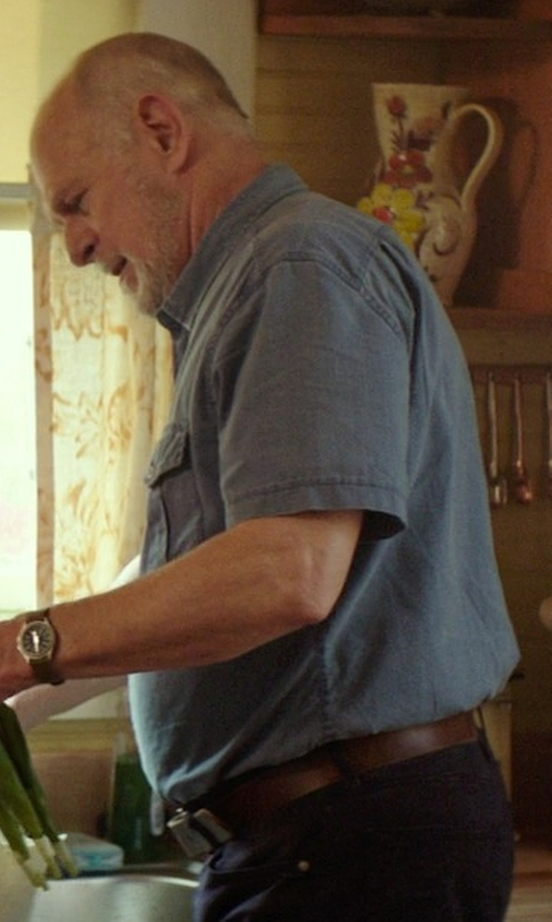 Gerald McRaney with Bill Adler Leather Belt in The Best of Me
