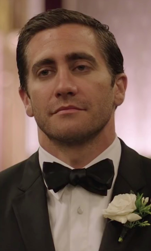Jake Gyllenhaal with Brioni Twill French-Cuff Trim-Fit Shirt in Demolition