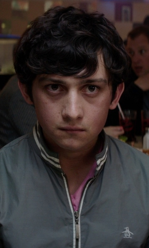 Craig Roberts with Original Penguin Ratner Pewter Jacket in Neighbors