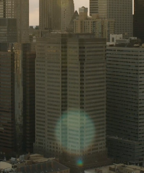Unknown Actor with One Seaport Plaza New York City, New York in Marvel's The Avengers