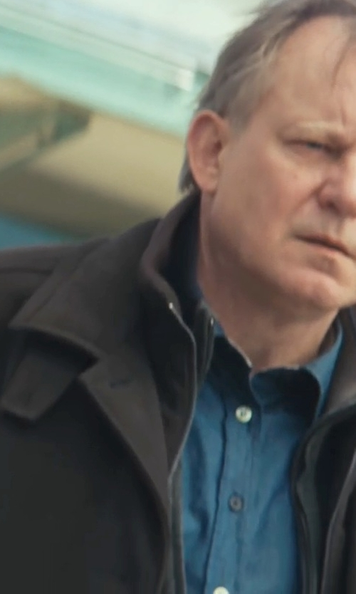 Stellan Skarsgård with Calvin Klein Full-Zip Softshell Jacket in Thor