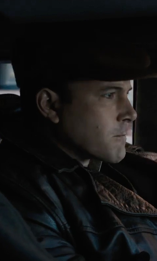 Ben Affleck with Decrum Dean Wichester Supernatural Antique Jacket in Live By Night