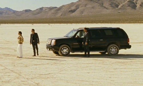 Unknown Actor with Cadillac 2005 Escalade SUV in The Hangover
