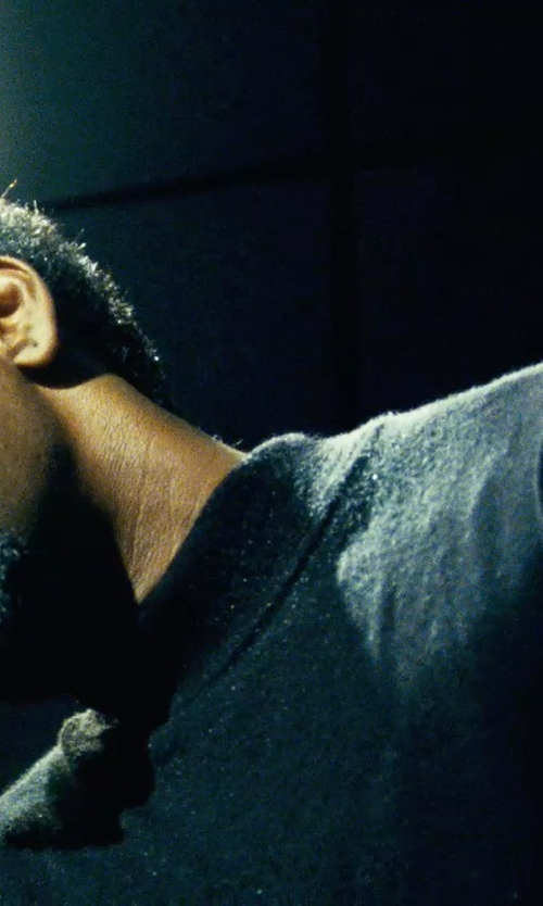 Denzel Washington with Michael Kors Cashmere Turtleneck Sweater in Safe House