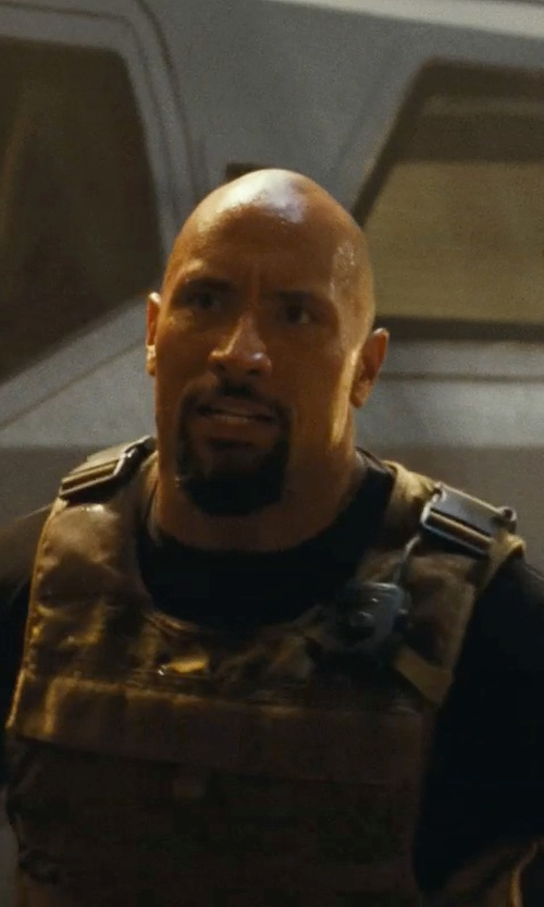 Dwayne Johnson with Reebow Gear Army Molle Tactical Vest in Fast Five