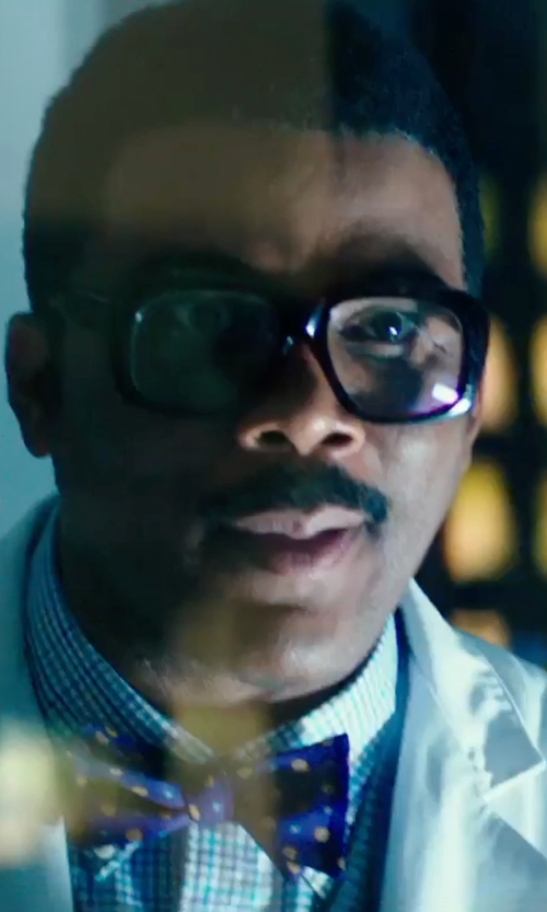 Tyler Perry with Countess Mara Houndstooth Dot Bow Tie in Teenage Mutant Ninja Turtles: Out of the Shadows
