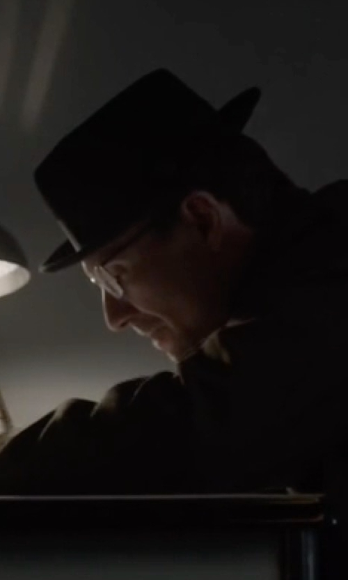 Christian Slater with Goorin Bros. Ricci Wool Felt Fedora in Mr. Robot