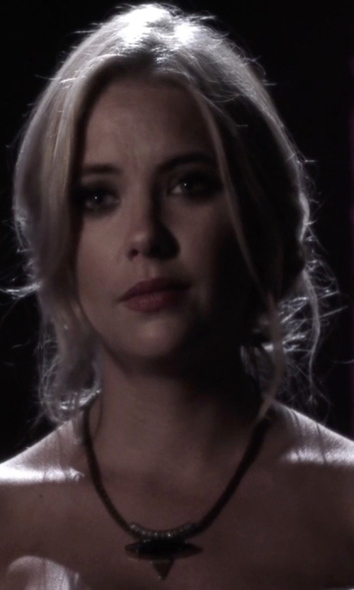 Ashley Benson with Lionette By Noa Sade  Harlem Necklace  in Pretty Little Liars