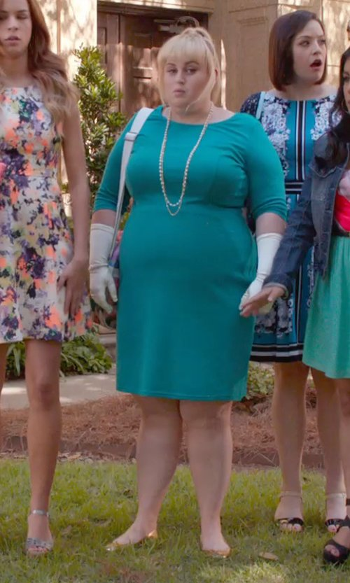 Rebel Wilson with Sam Edelman Noah Ballet Flat Shoes in Pitch Perfect 2