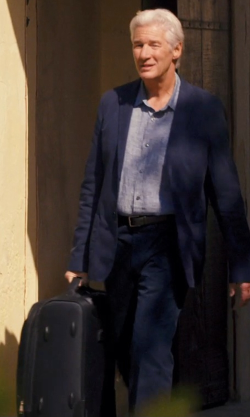 Richard Gere with Eagle Creek Tarmac Awd 25 Luggage Bag in The Second Best Exotic Marigold Hotel