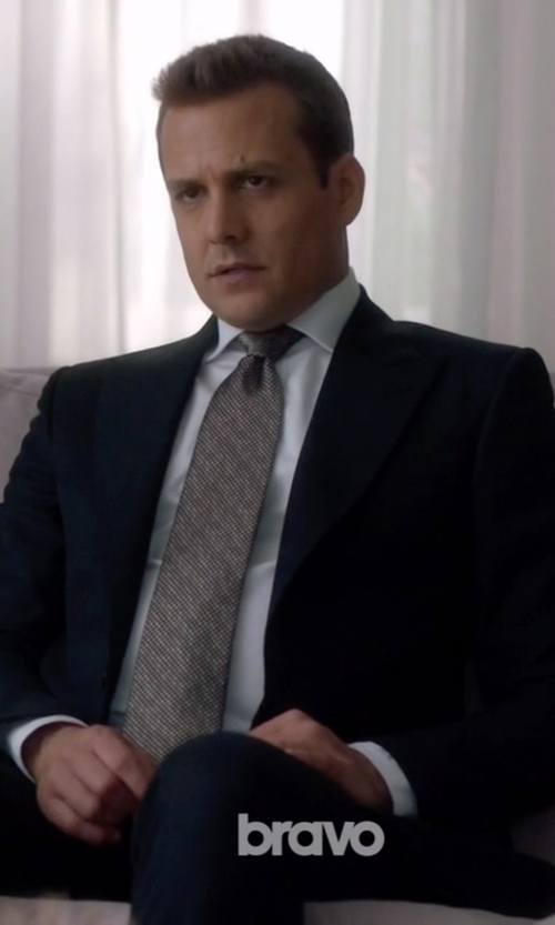 Gabriel Macht with Givenchy Two Piece Suit in Suits
