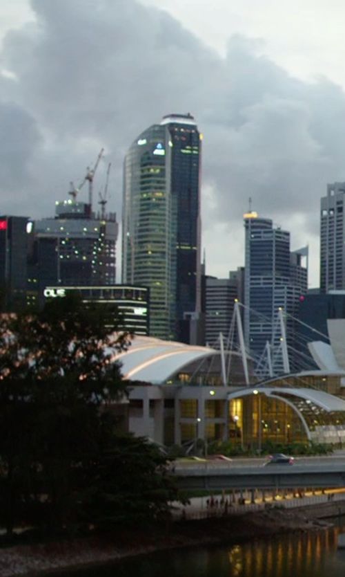 Unknown Actor with Republic Plaza Singapore in Hitman: Agent 47