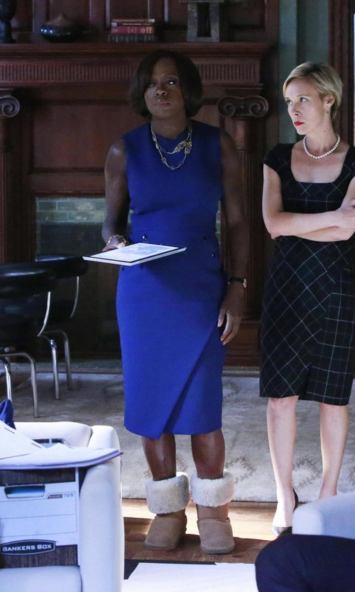 Viola Davis with David Yurman Chatelaine Necklace in How To Get Away With Murder