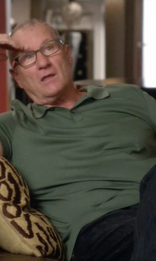 Ed O'Neill with Zanone Polo Shirt in Modern Family