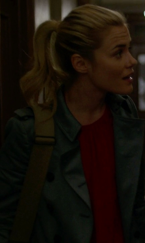 Rachael Taylor with Dek'her Full-Length Jacket in Jessica Jones